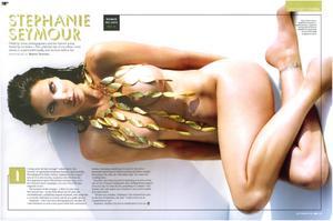 Stephanie Seymour nude big boobs GQ cover