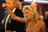 Мишель Ханзикер, фото 1351. Michelle Hunziker german TV show 'Wetten Dass' in Halle, 12.02.2011, foto 1351