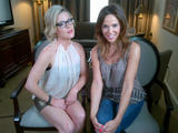 "Kathleen Robertson - TwitPic Doing Press for Season 2 of ""Boss"""