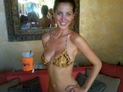 Eva Amurri in a Bikini at Tao Beach in Las Vegas on September 23, 2011
