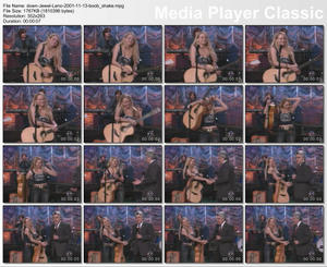 Jewel Kilcher @ Tonight Show w/ Jay leno 11/13/2001 Jiggly Boobs Vid Clip
