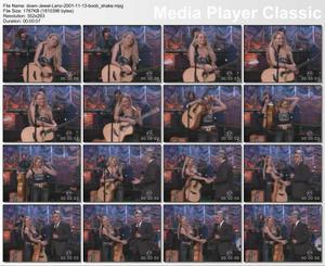 Jewel Kilcher @ Tonight Show w/ Jay leno 11/13/2001 Jiggly Boobs Vid Clip