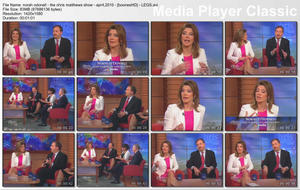 NORAH O'DONNELL - The Chris Matthews Show - (April 4, 2010)